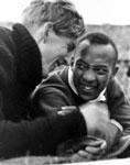 Luz Long and Jesse Owens, Berlin 1936